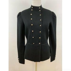 White House Black Market Military Style Jacket
